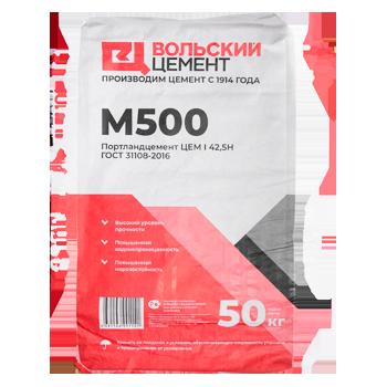 цемент м500 расход